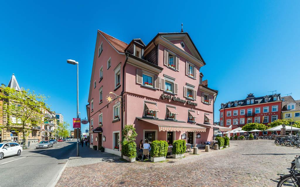 Hotel Goldener Sternen Konstanz - Haus Außenansicht