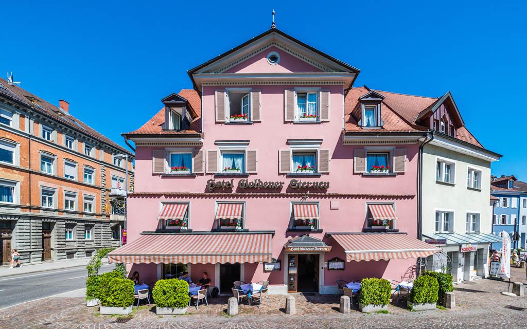 Hotel Goldener Sternen Konstanz - Außenansicht Frontal