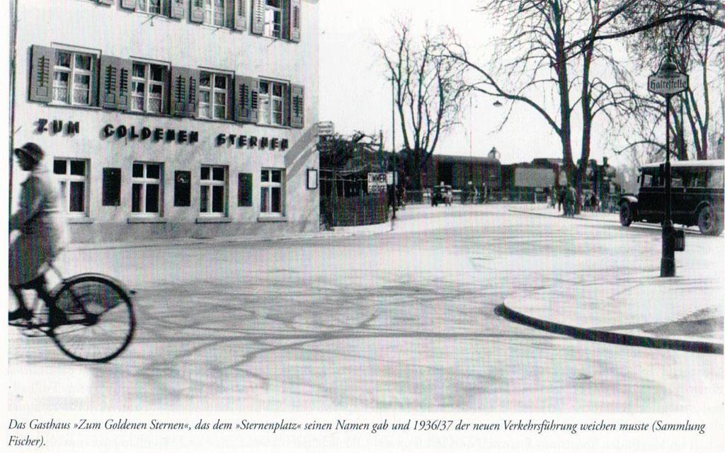 Hotel Goldener Sternen Konstanz - Außenansicht um 1930