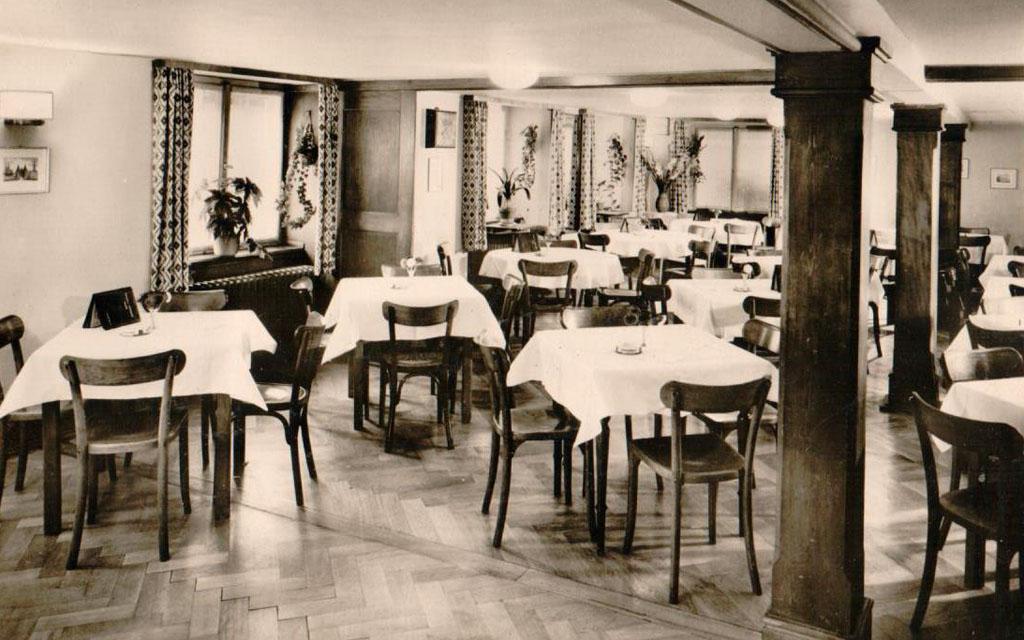 Hotel Goldener Sternen Konstanz - Innenansicht um 1930