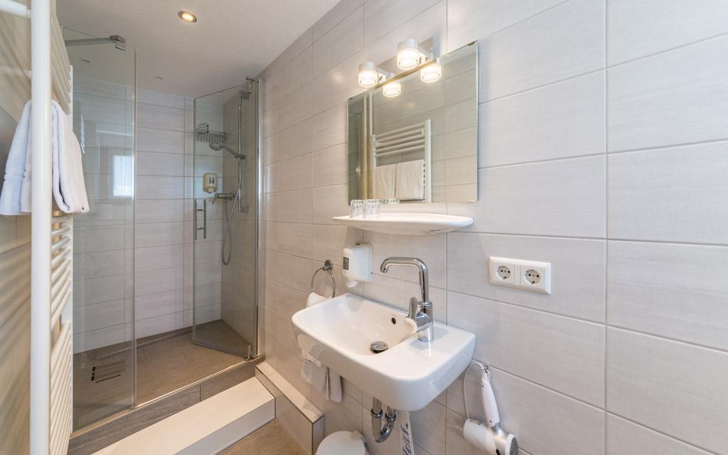 Hotel Goldener Sternen Konstanz - Zimmer Bad