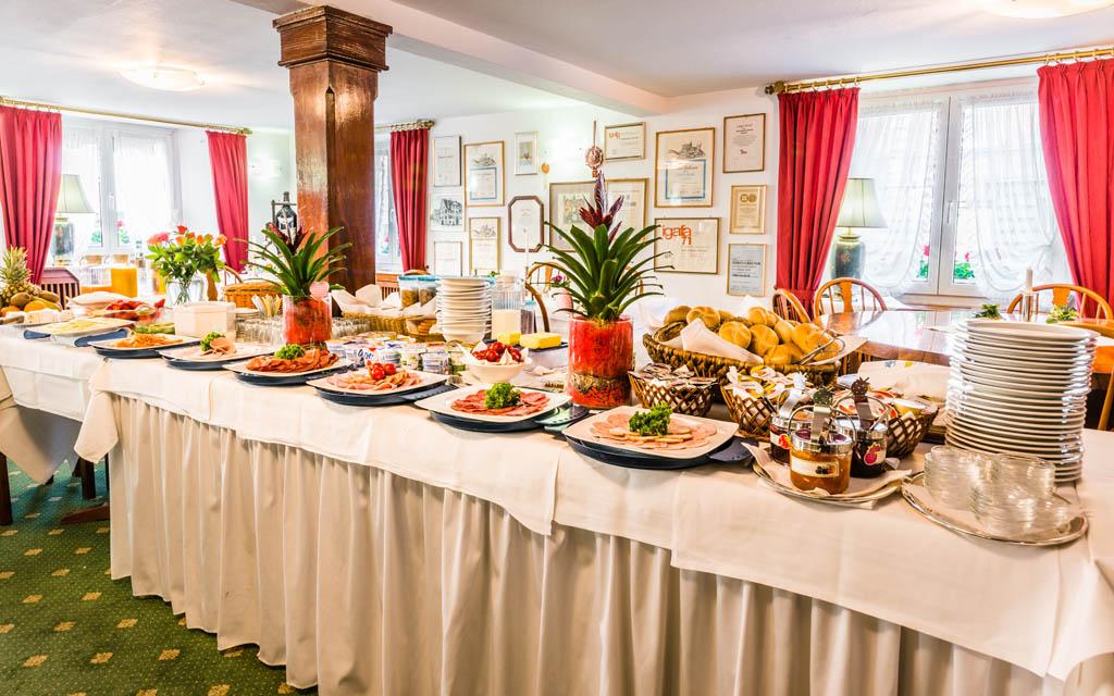 Hotel Goldener Sternen Konstanz - Frühstück Buffet