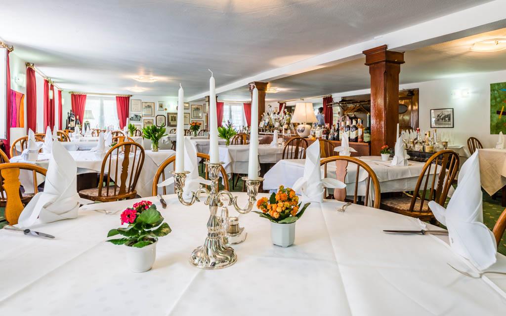 Hotel Goldener Sternen Konstanz - festliches Gedeck